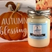 Apple Cider Bourbon Scented Soy Wax Candle  - J12ACB