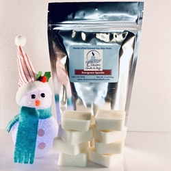 Evergreen Sparkle Scented Soy Wax Melts
