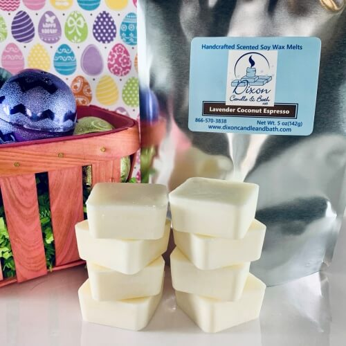 Lavender Coconut Espresso Scented Soy Wax Melts