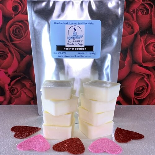 Red Hot Bourbon Wax Melts